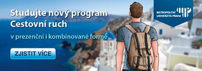 Pojďte studovat Cestovní ruch na MUP.